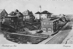 Vuurtoren vanuit oranjeweg 1928