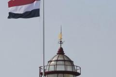 Koepel met vlag
