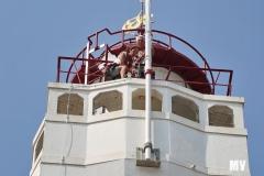 Monteren mast