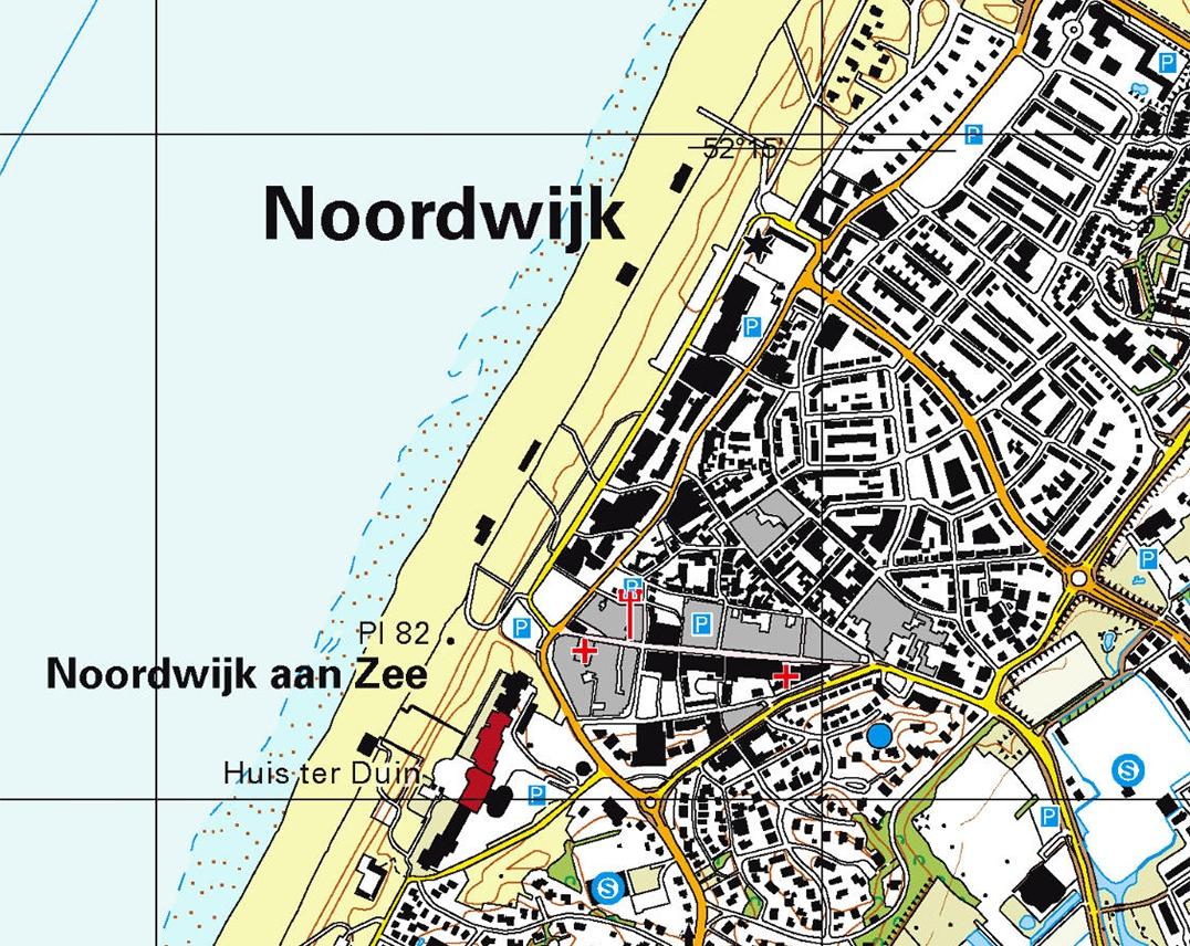 Kaart Noordwijk 2017