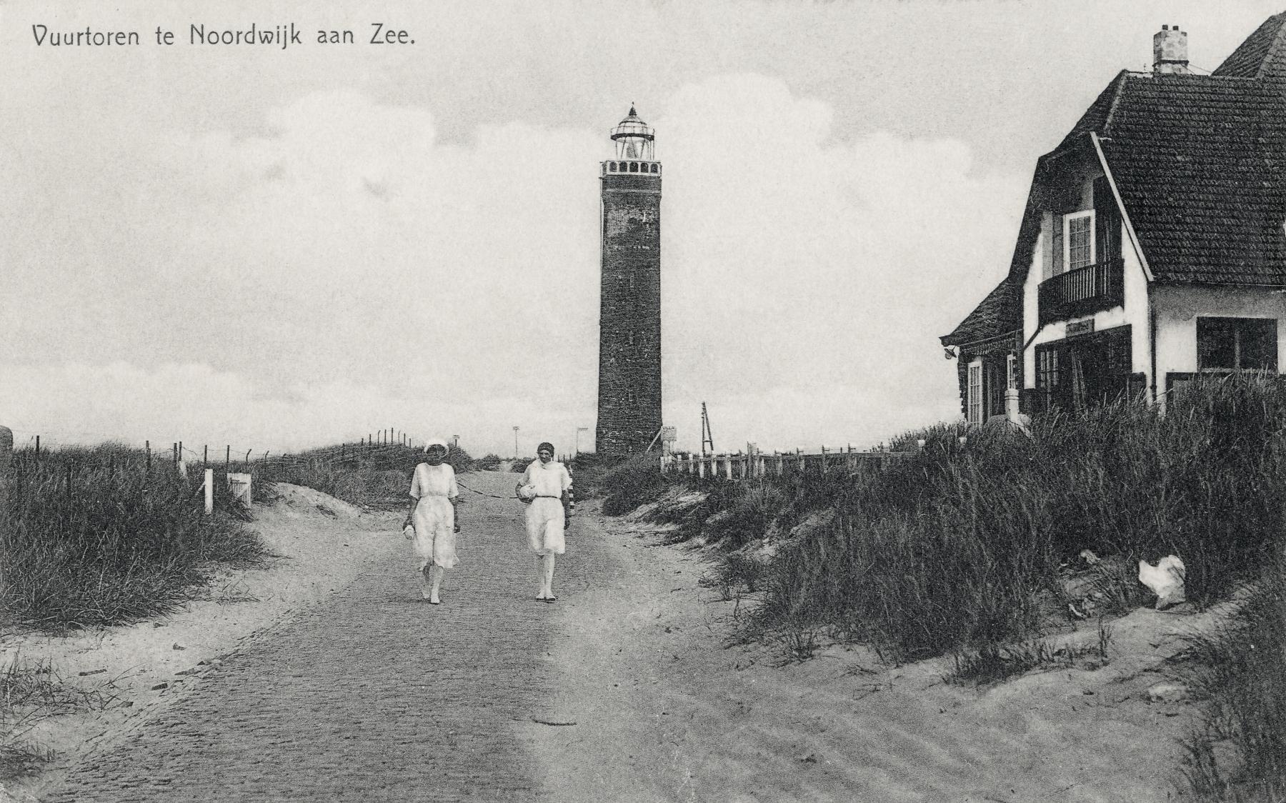 Noordwijk aan Zee 1930 ansichtkaart