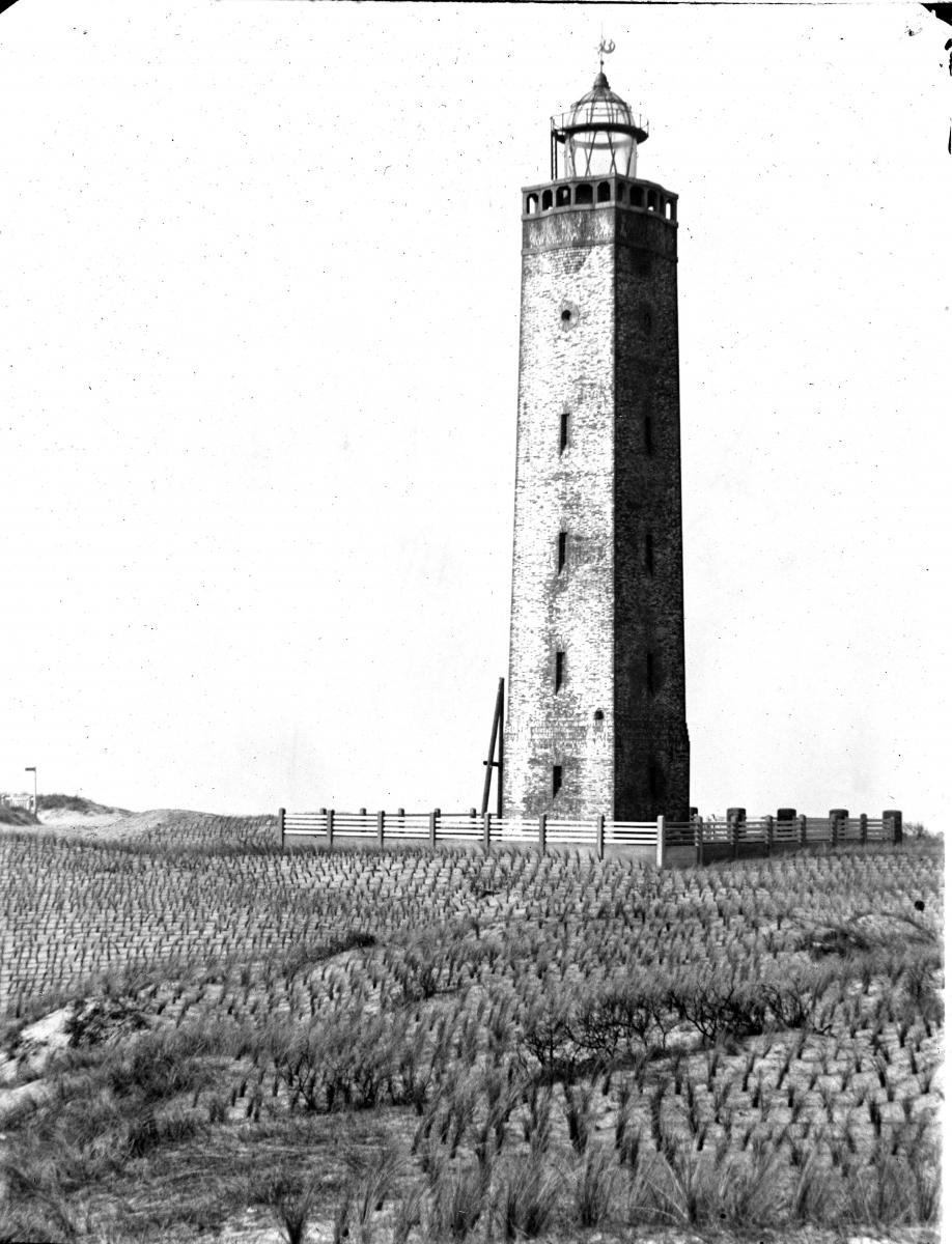 Noordwijkb in 1922 Bron:  glasnegatief regionaal archief Leiden