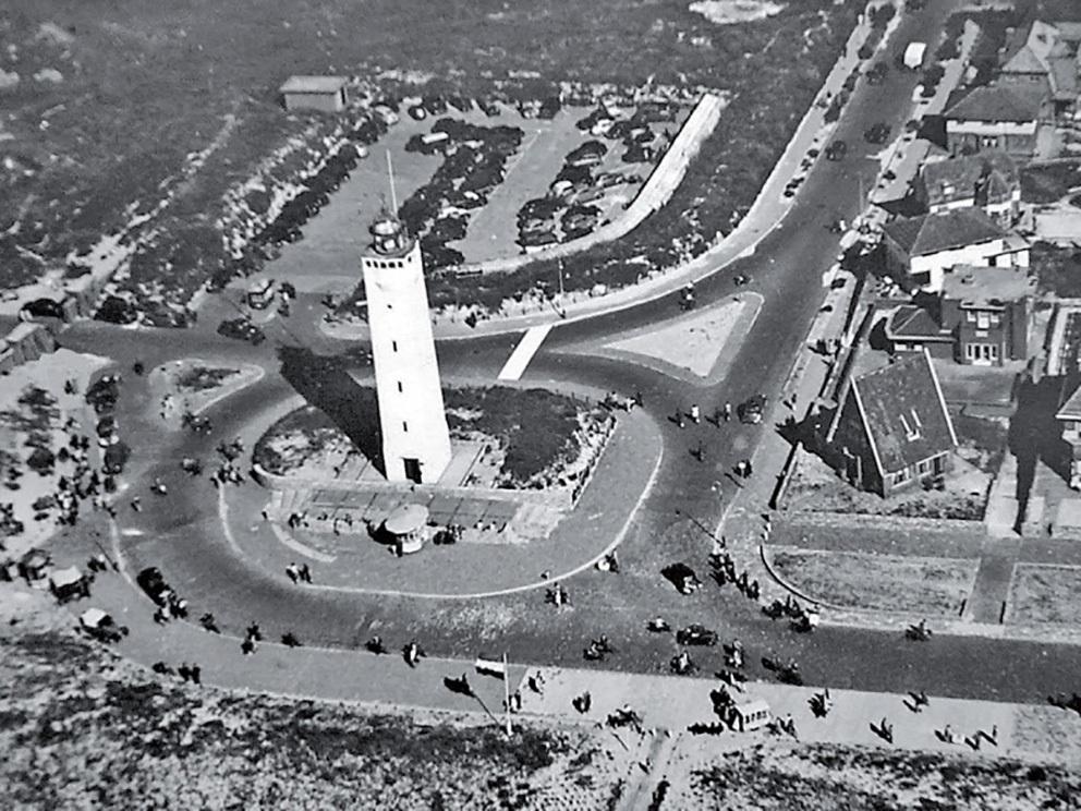 Noordwijk vlak na de Tweede Wereldoorlog Bron: Atlas van Noordwijk