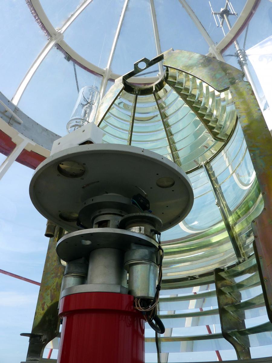 Noordwijk  Vuurtoren_lamp in 2010