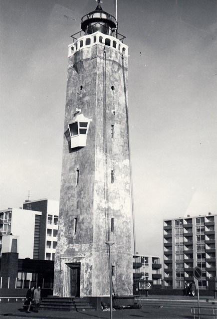 Vuurtoren onderhoud na 1953