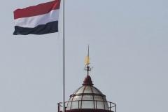 Koepel met vlag 27 augustus 2019