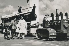 Noordwijk aan Zee in 1960 met Kurt Carlsen  ansichtkaart