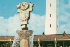 Janus in 1985 ansichtkaart