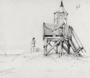 Noordwijk aan Zee 1845 W A van Deventer